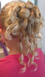 bun hairstyles little girls