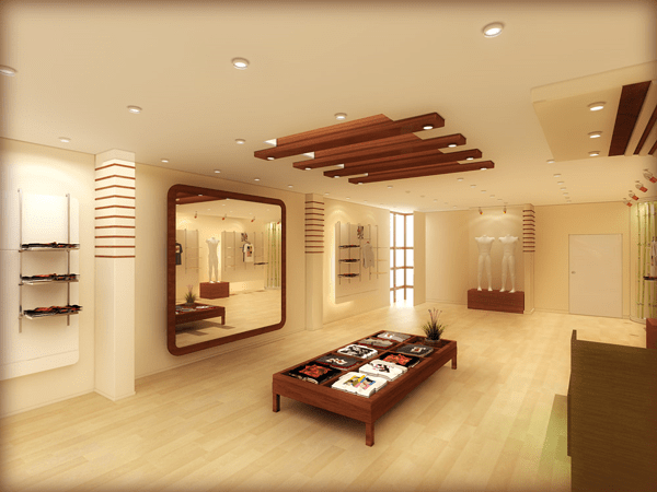 Modren False Ceiling With Wood Material