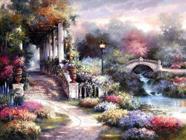 Classic Garden Retreat James Lee