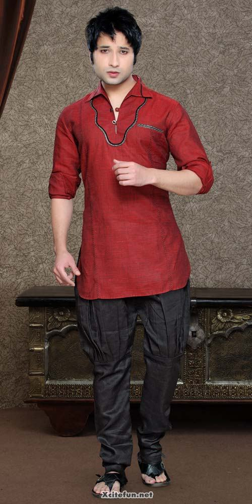Men Short Kurtas With French Pajama  Eid Wear  XciteFunnet