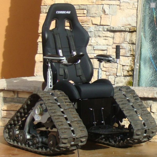 The Tank Chair  OffRoad Wheelchair  XciteFunnet