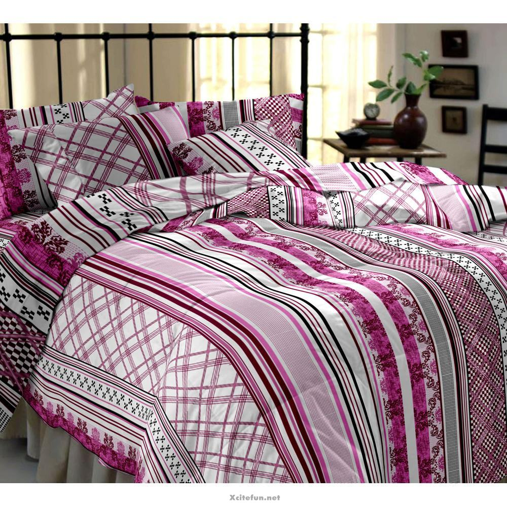 Funny But Cute Wallpapers Winter Bed Sheets With Blanket Pillow And Cushion Set