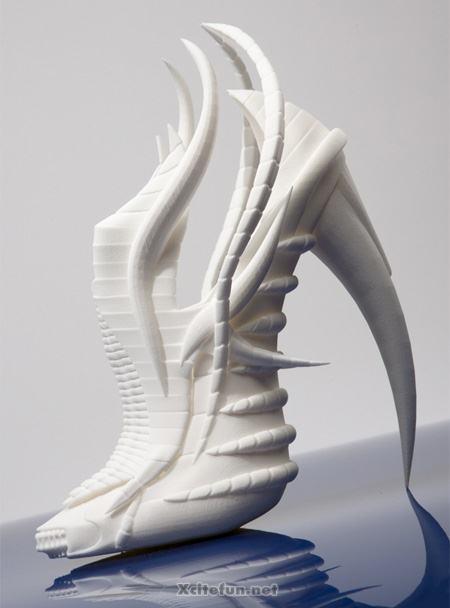 Cool Cute 3d Wallpapers Unusual High Heel 3d Printed Shoes By Janina Alleyne