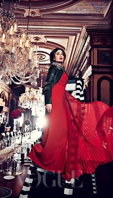 Cool Inspirational Quotes Wallpapers Kareena Kapoor Vogue Magazine Cover Shoot Xcitefun Net
