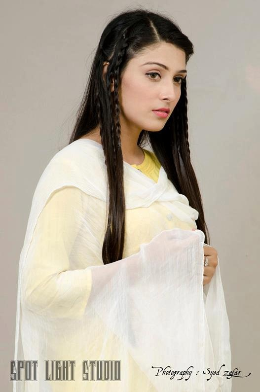 Very Cute And Beautiful Wallpapers Ayza Khan In Yellow And White Dress Xcitefun Net