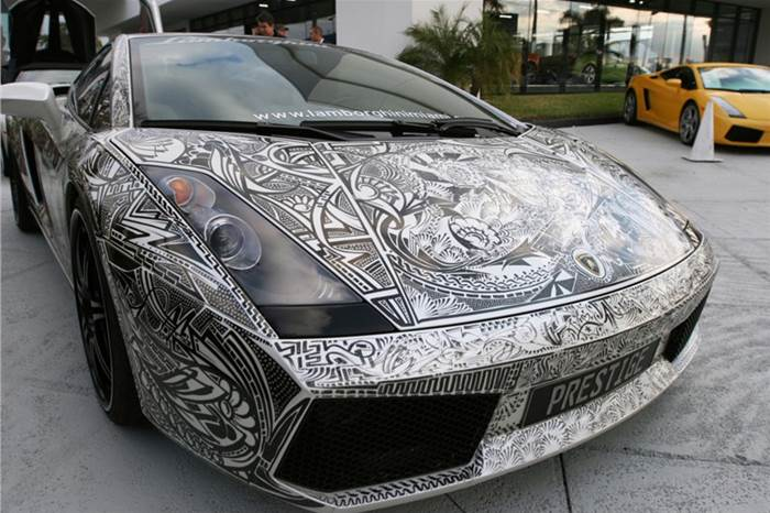 Painted Sports Cars  XciteFunnet