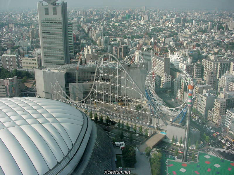 Thunder Dolphin Roller Coaster  Tokyos Cry  XciteFunnet