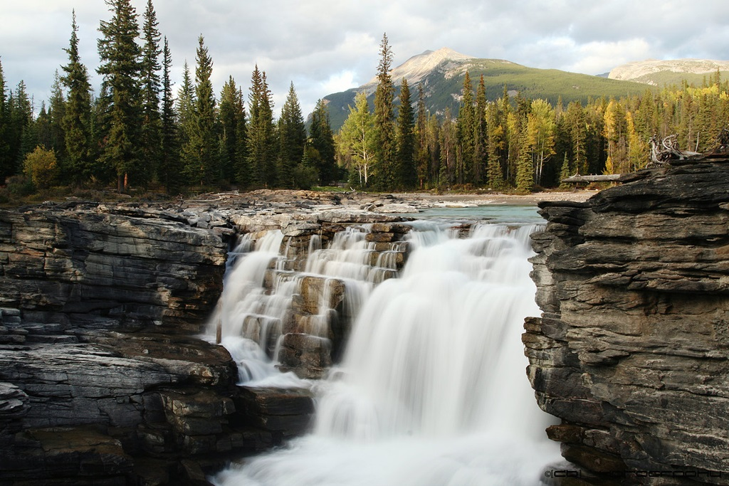 Cute Painting Wallpapers Athabasca Falls Images Natural Beauty Of Canada