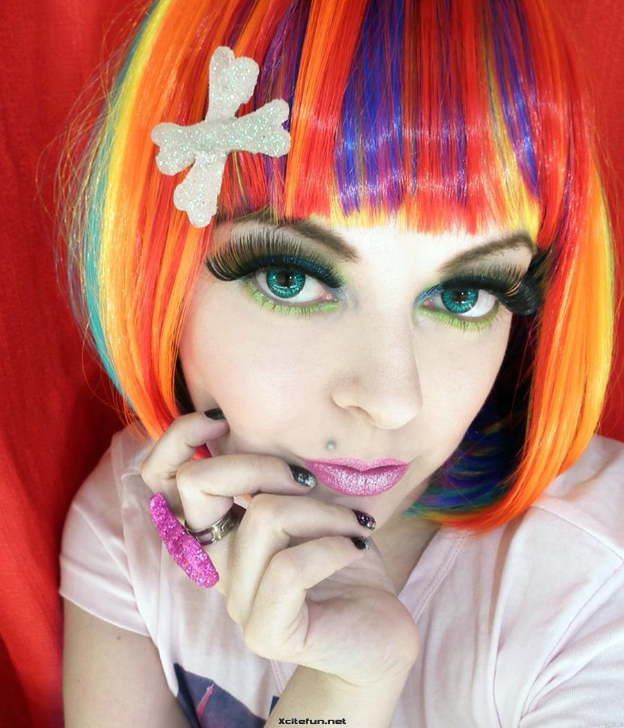 Party Wear Crazy Eye Makeup Ideas  XciteFunnet