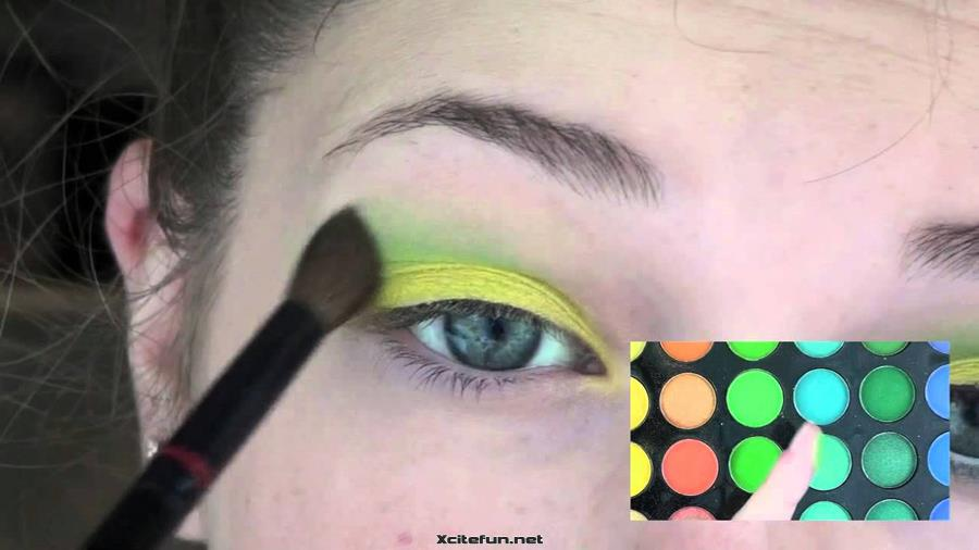 Party Wear Crazy Eye Makeup Ideas  XciteFunnet