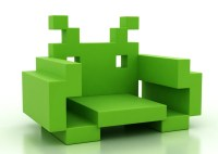 Abstract Furniture Design - Space Invader Chairs ...