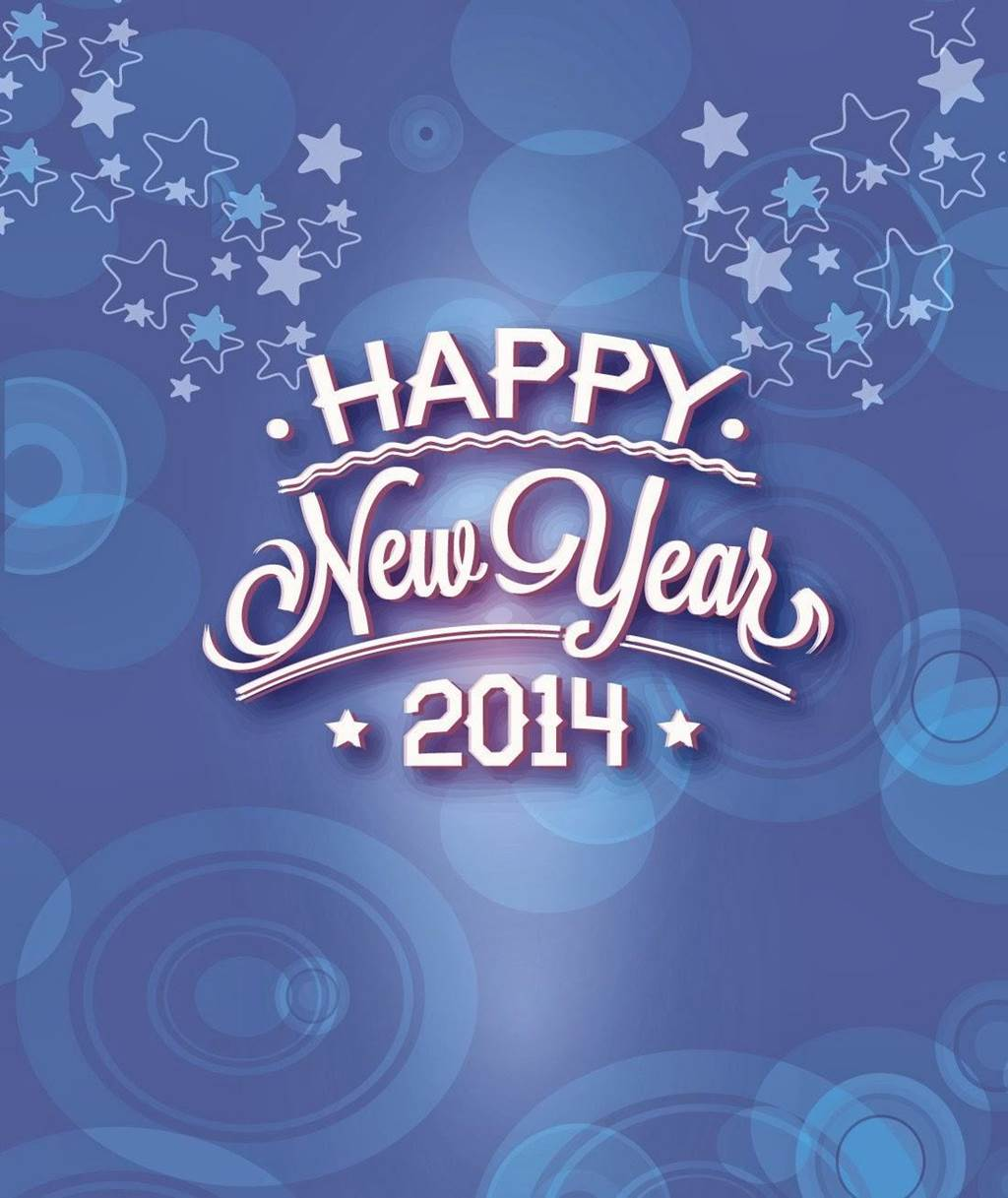 Happy New Year 2014 Wishing Greeting Cards