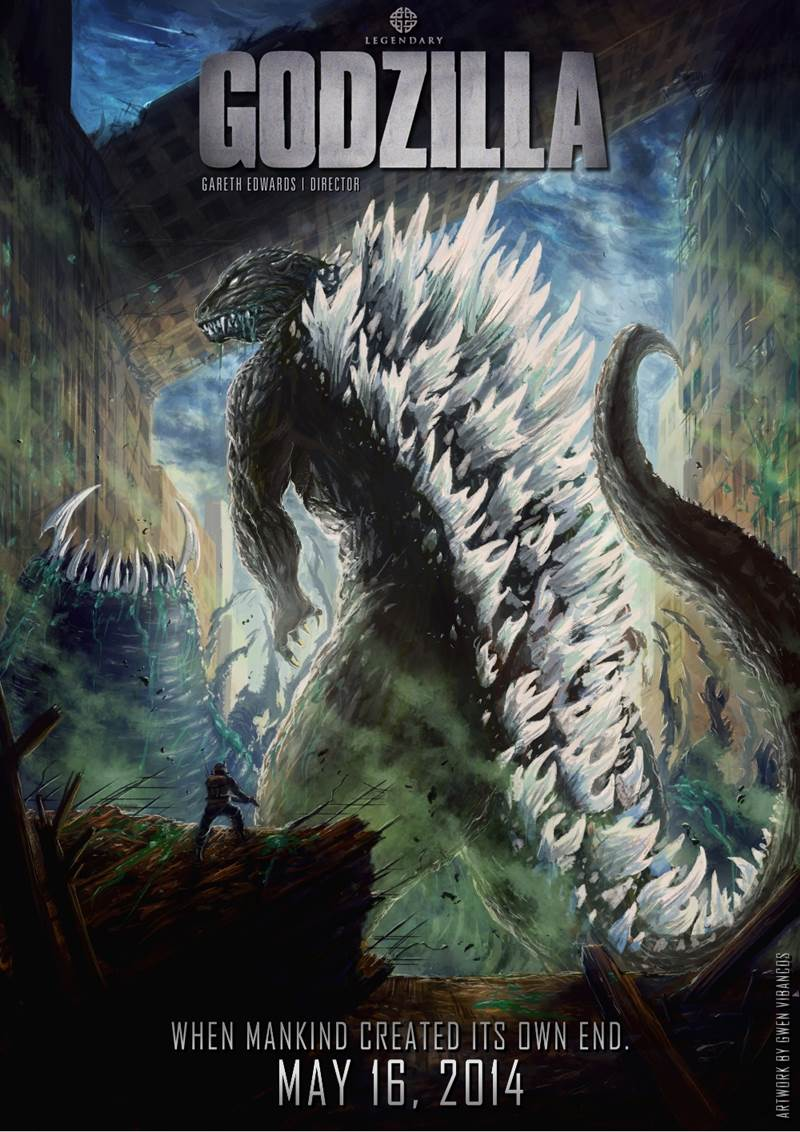 Funny Videos Cute Wallpapers Godzilla 2014 Movie Posters And Trailer Xcitefun Net