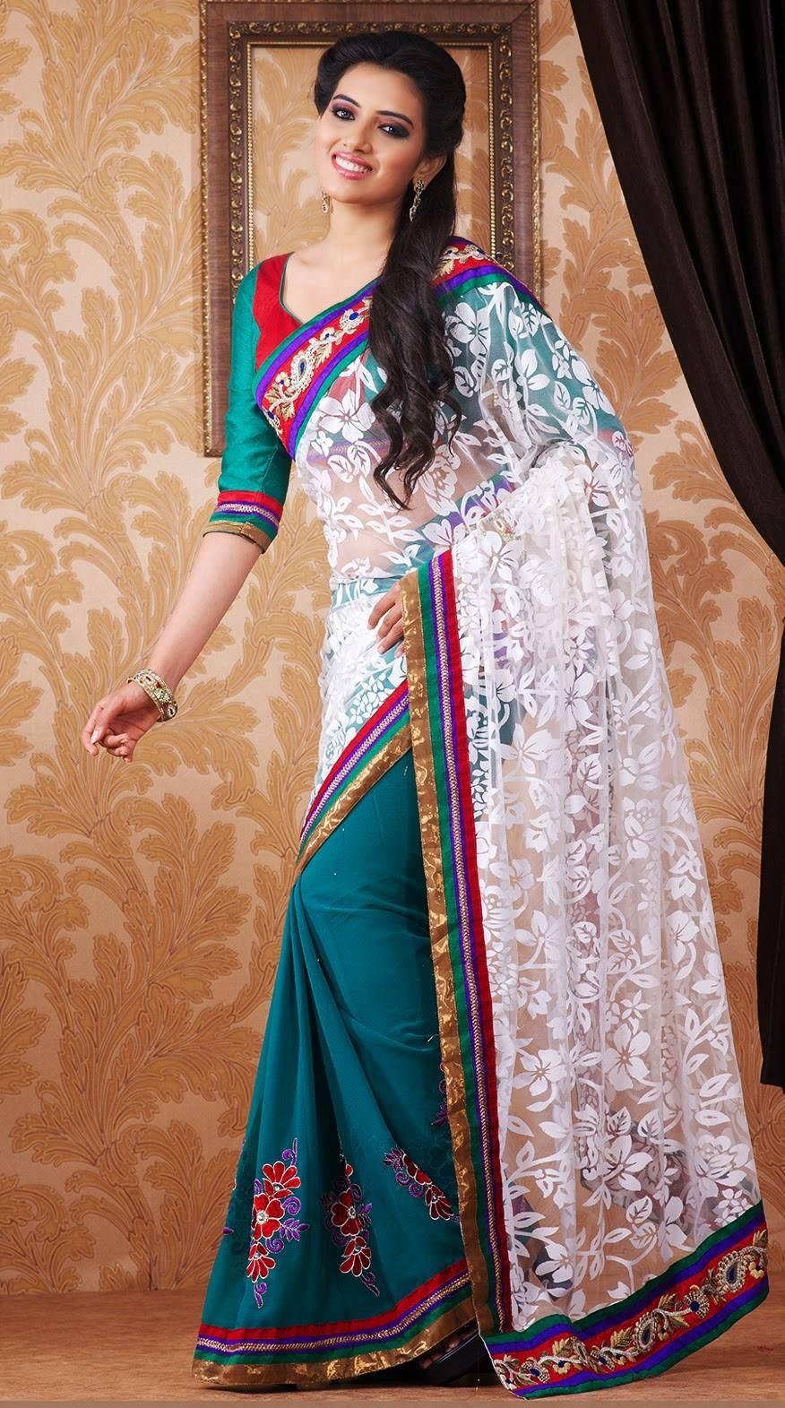 Fancy Designer Saree For Party Wear  XciteFunnet