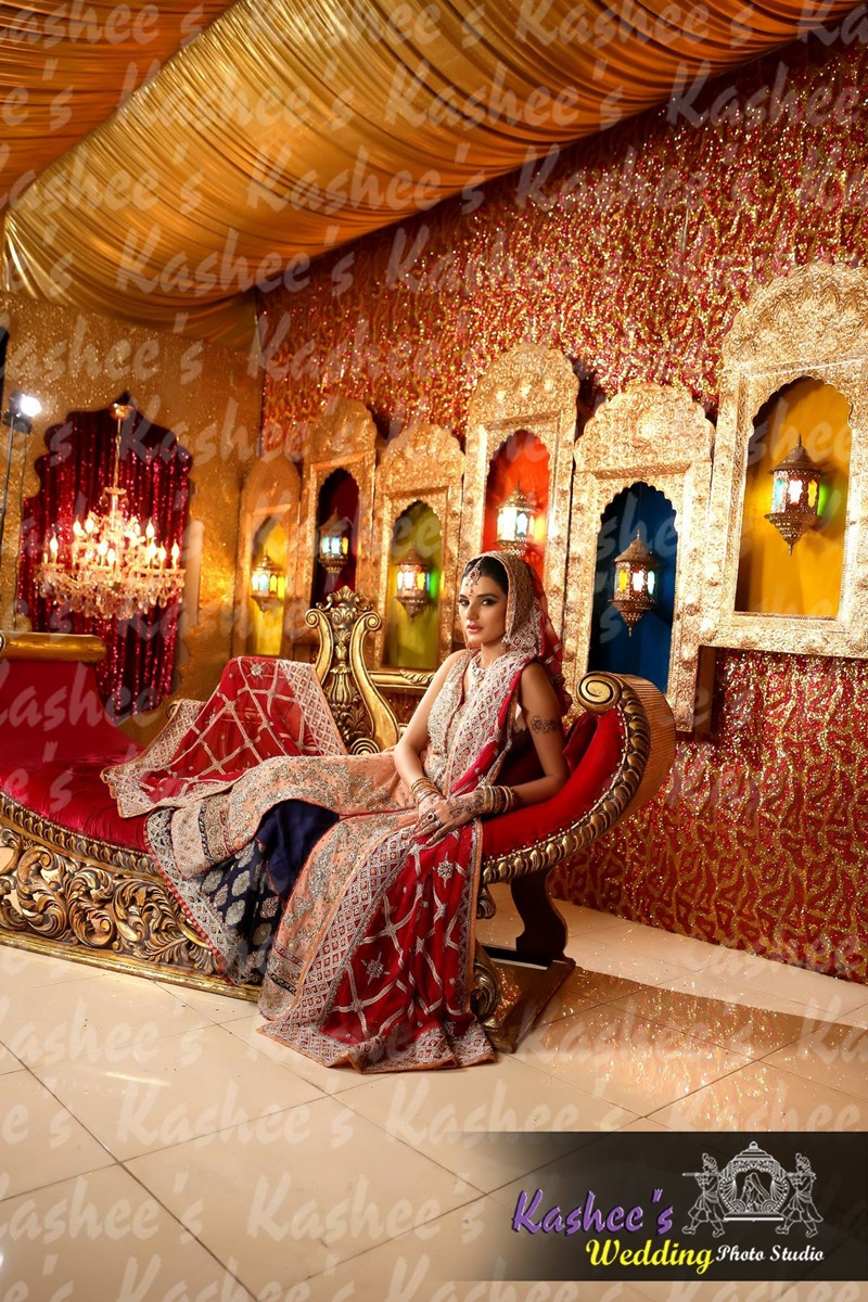 Ary Digital Shoot At Kashee Wedding Photo Studio  XciteFunnet