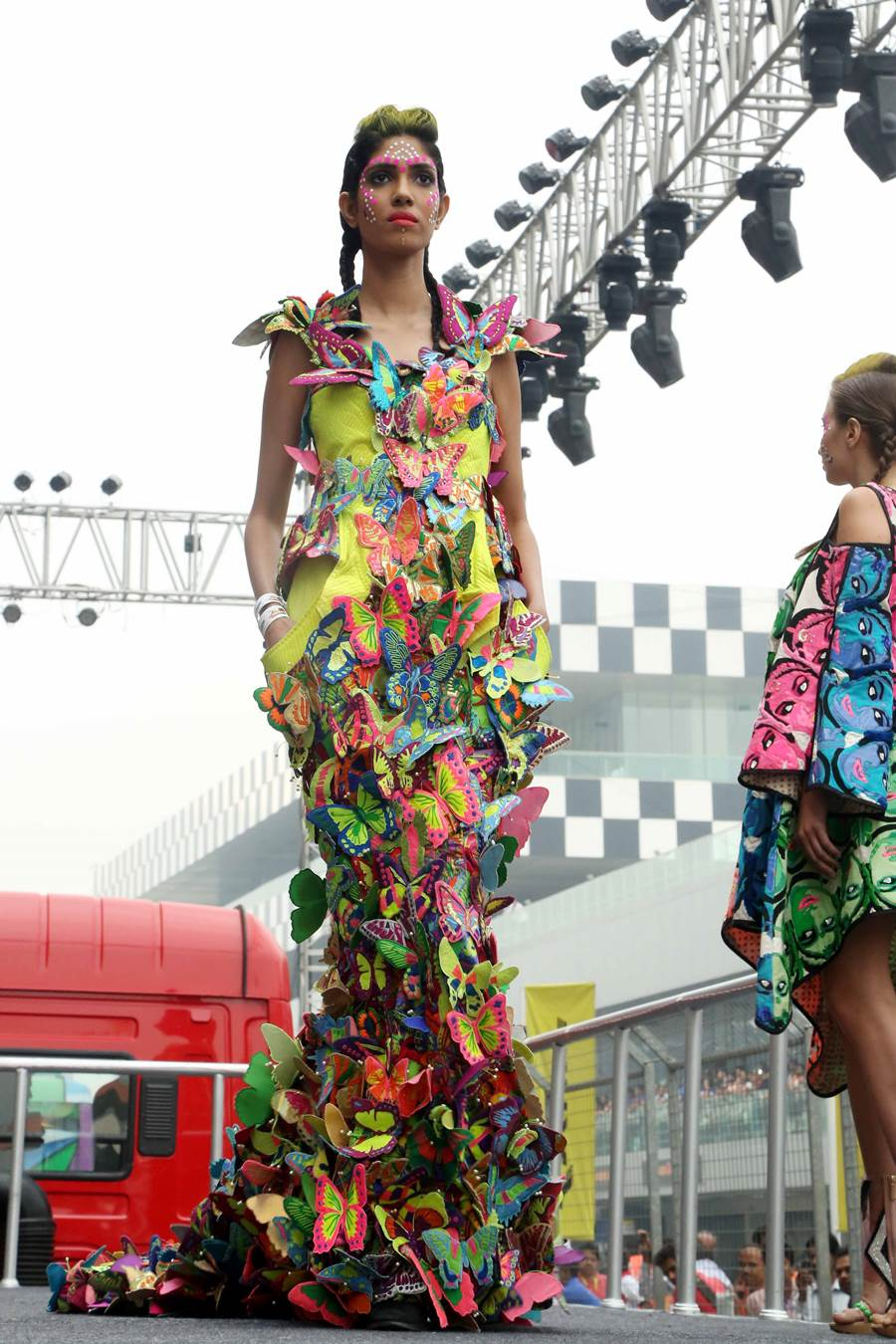 Fashion Show Inspired By Indian Trucks Xcitefun Net