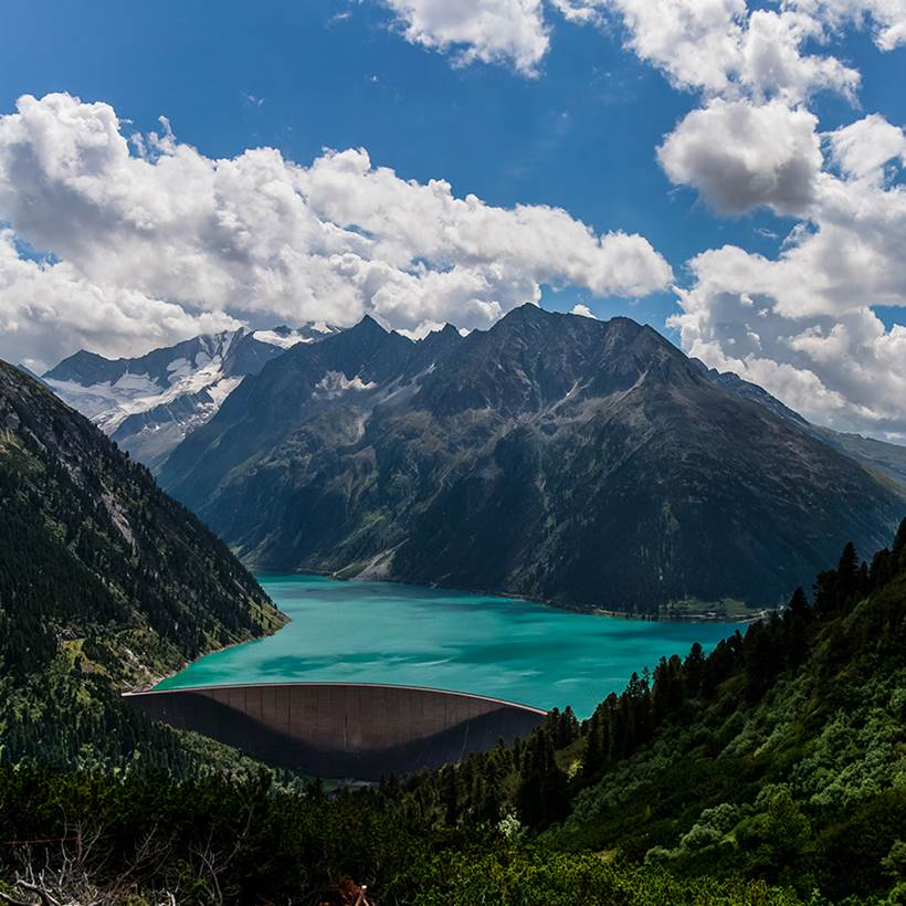 Cute Inspirational Quotes Wallpapers Scenic Beauty Of Schlegeis Lake Austria Xcitefun Net
