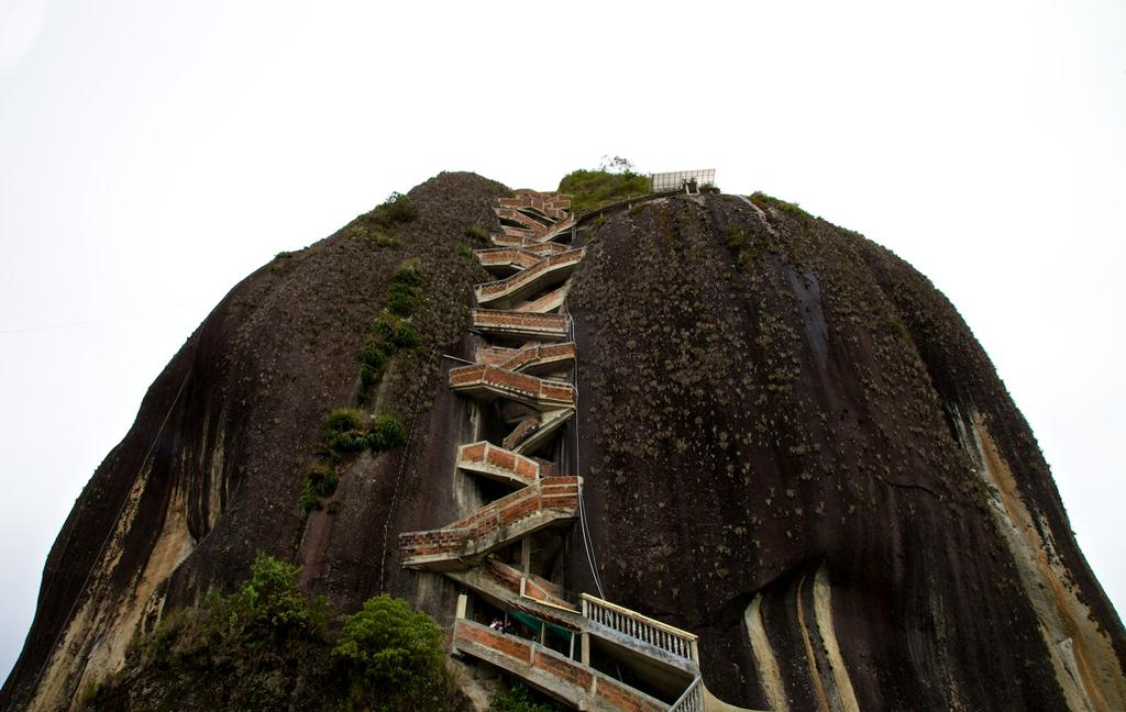 Inspirational Quotes And Wallpapers Guatape Rock Colombia Images Gallery Xcitefun Net
