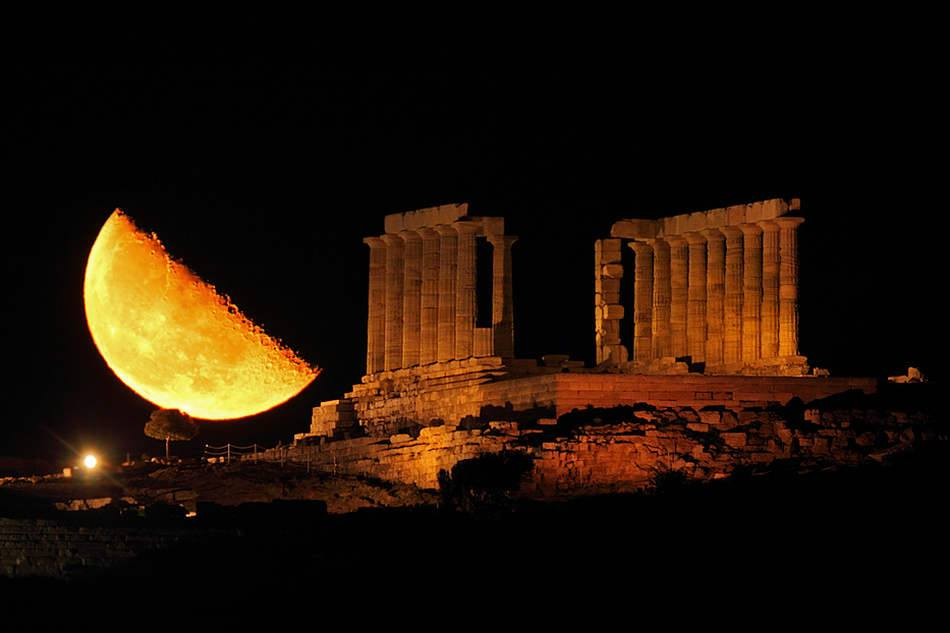 Apps For Quotes Wallpapers Supermoon Appeared In Athens Greece Xcitefun Net