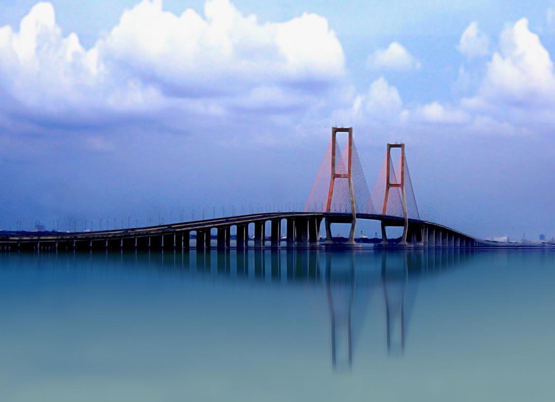 Cute Babies Pics Wallpaper Images Suramadu Bridge Images N Detail Madura Indonesia