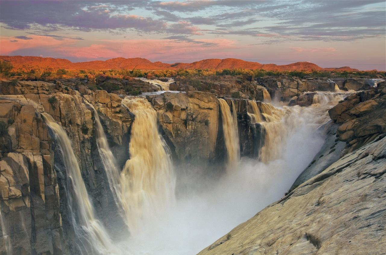 Beautiful Fall Location Wallpapers Travel To Augrabies Falls South Africa Xcitefun Net