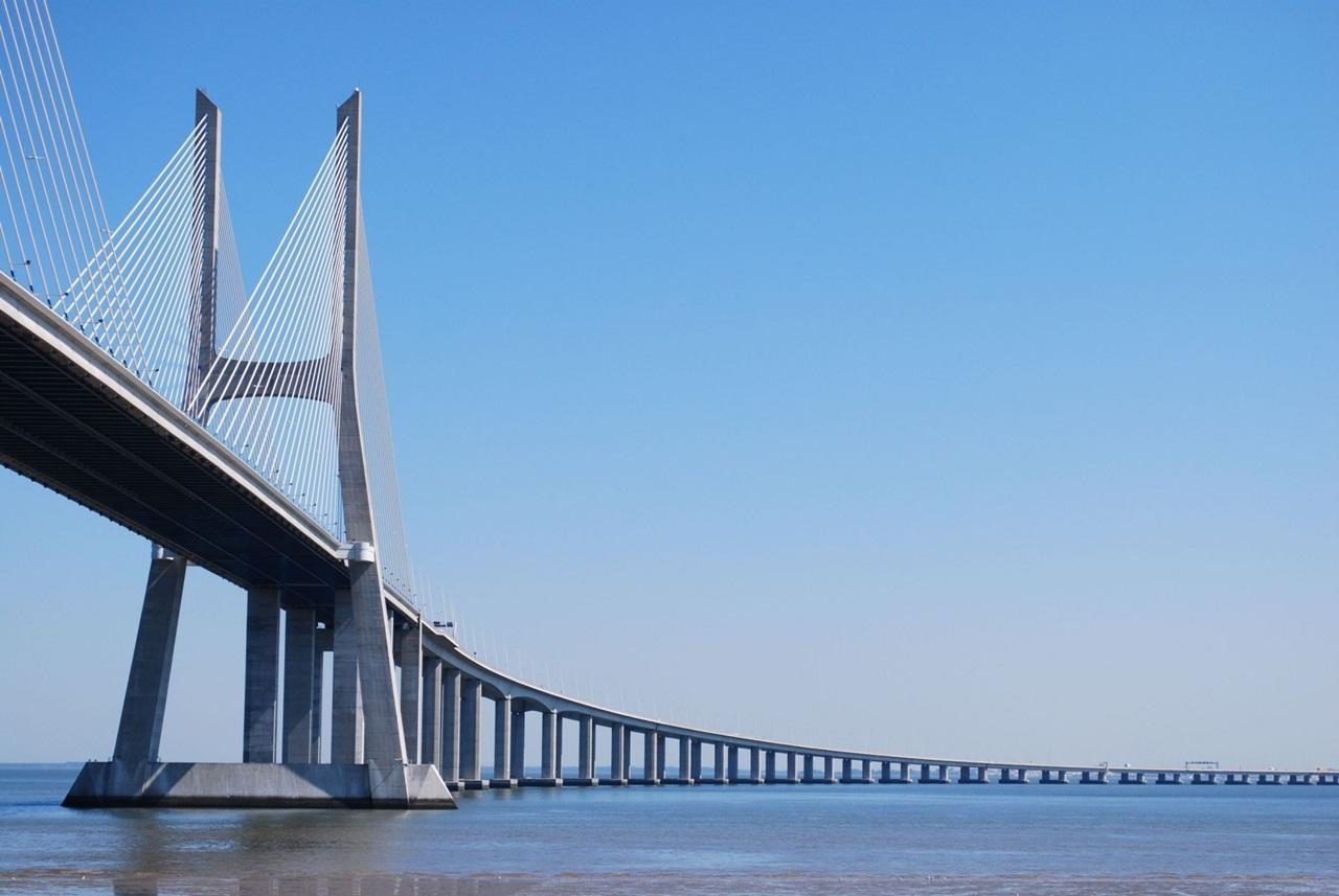 Image result for portugal bridge vasco da gama