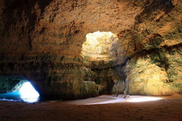 Cute Cute Babies Hd Wallpapers Huge Beach Caves In Algarve Portugal Xcitefun Net
