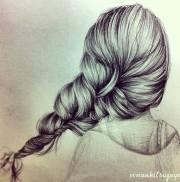 drawings of amazing hair styles