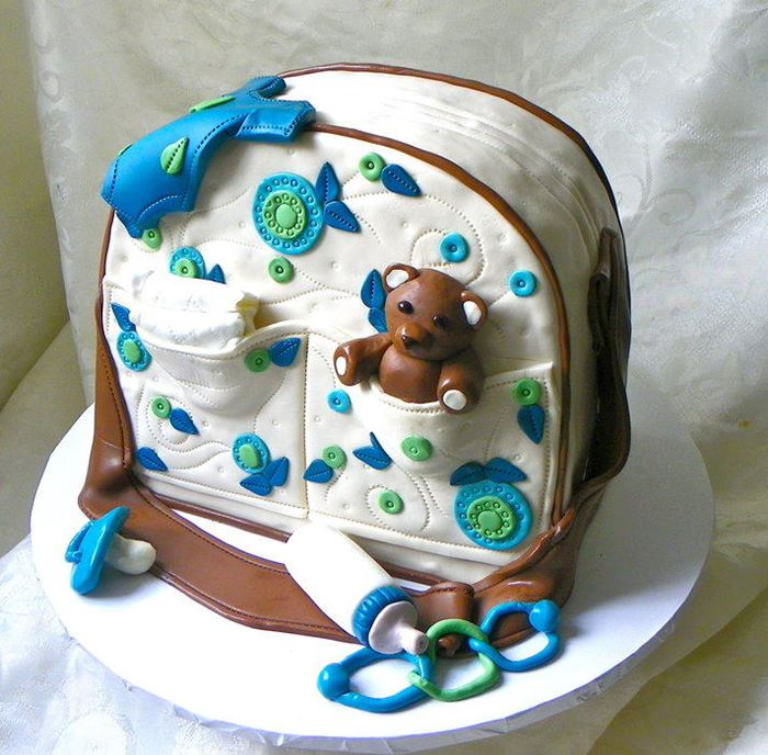 Amazing Diaper Bag Cakes For Baby Showers  XciteFunnet