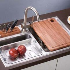 Rustic Kitchen Sinks Delta Addison Faucet 厨房水槽安装步骤 优缺点 选购方法 使用和保养 十大品牌 贤集网资讯