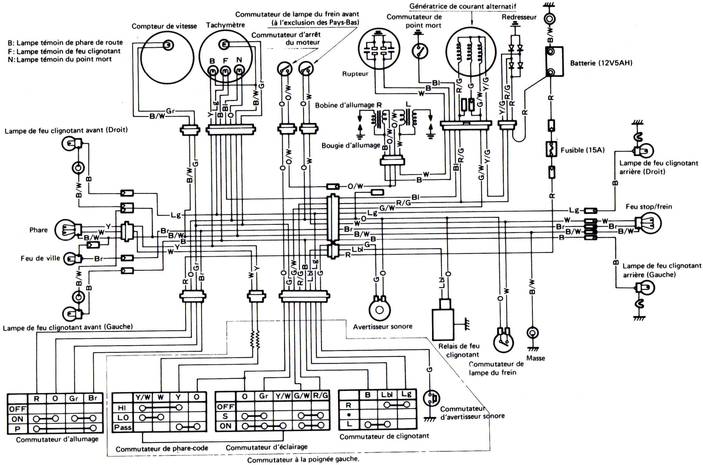 Schema Electrique Suzuki 125 Gt