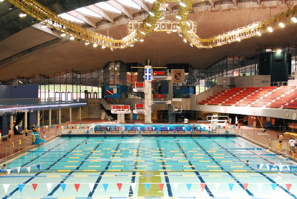 TechniqueTP  Construction du complexe olympique de Montral