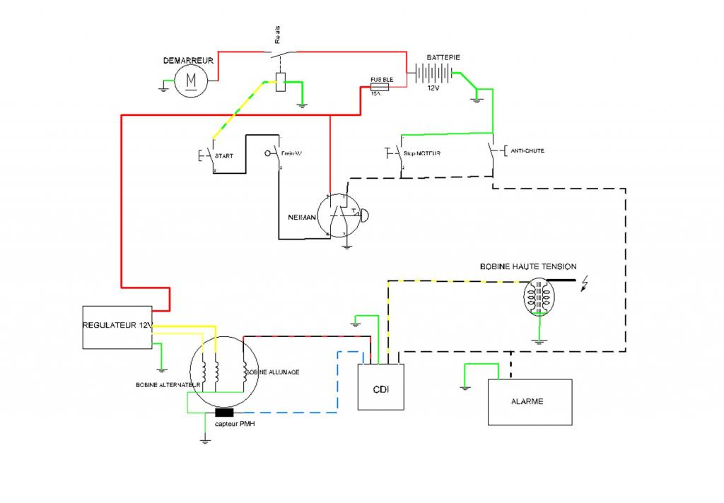 Pocket Bike Wiring Diagram