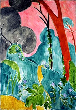 Comme Une Image  Matisse loeuvre peinte