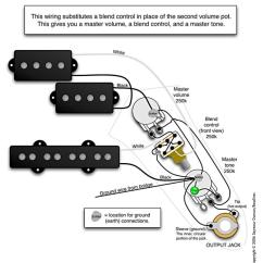 Pj Wiring Diagram 3 Way Usb Cable Fenderbass Câblage Jazz Bass De Type Quotblend Quot