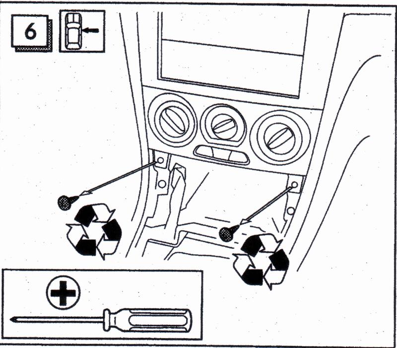 Subaru Passion :: installation autoradio 2-din