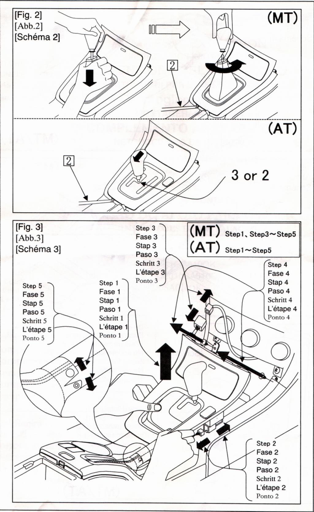 Subaru Passion Demontage Autoradio Forester