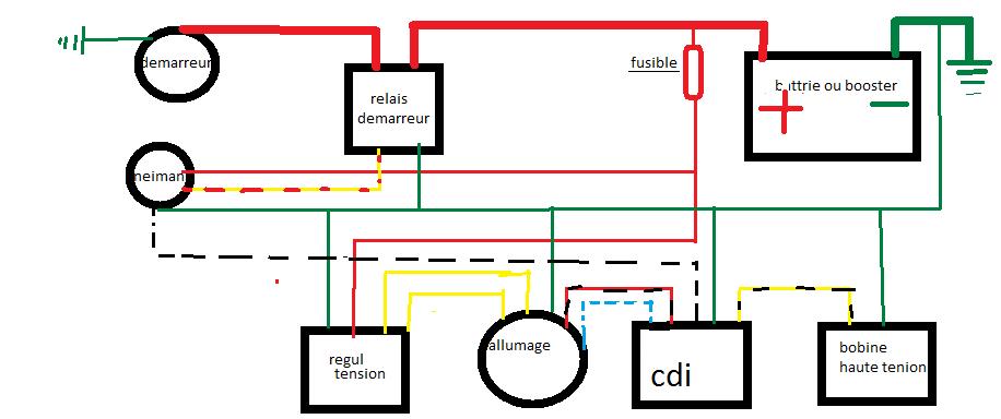 107cc Wiring Diagram Schema Relais Demarreur Quad