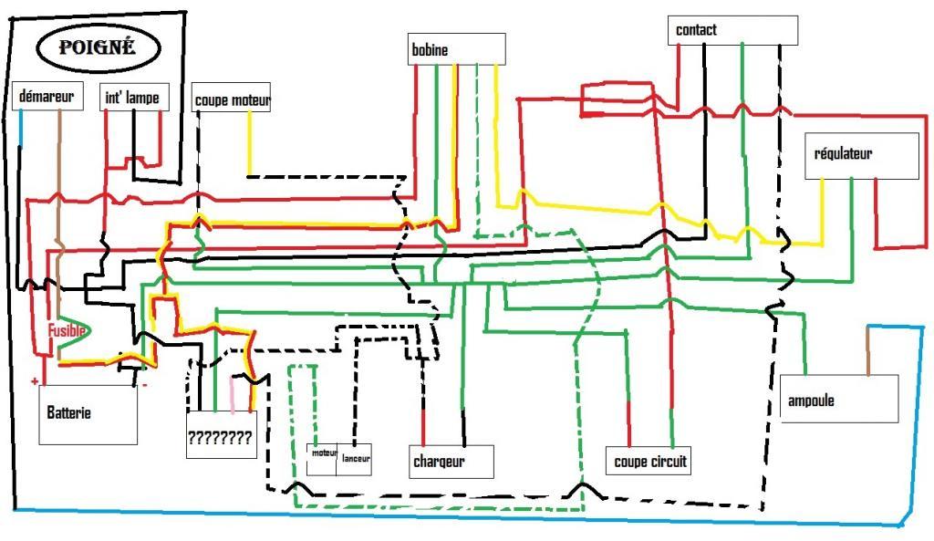 lambretta wiring diagram 2003 pontiac vibe stereo chinese quad :: recherche de schéma électrique [atv49 cobra ii pocket quad]