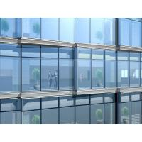 Clear Curtain Wall Insulation  Exterior Double Glazed