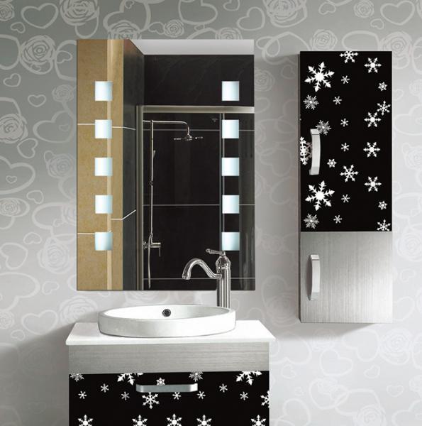 Rectangular Frameless Bathroom Mirror  Decorative Wall