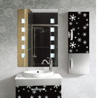 Rectangular Frameless Bathroom Mirror / Decorative Wall ...