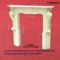 PU wall niches and fireplace of item 101853039