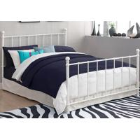 Details Of Queen Contemporary Metal Beds Full Size White