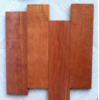 Details of solid Kempas wood flooring/kempas hardwood