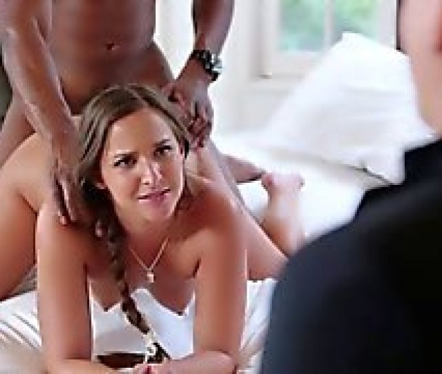 Teen Student Sucking And Getting Fuck By A Big Black Cock