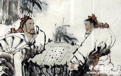 圍棋的起源發展歷史圍棋為什么是黑白的_歷史文化_中國歷史網