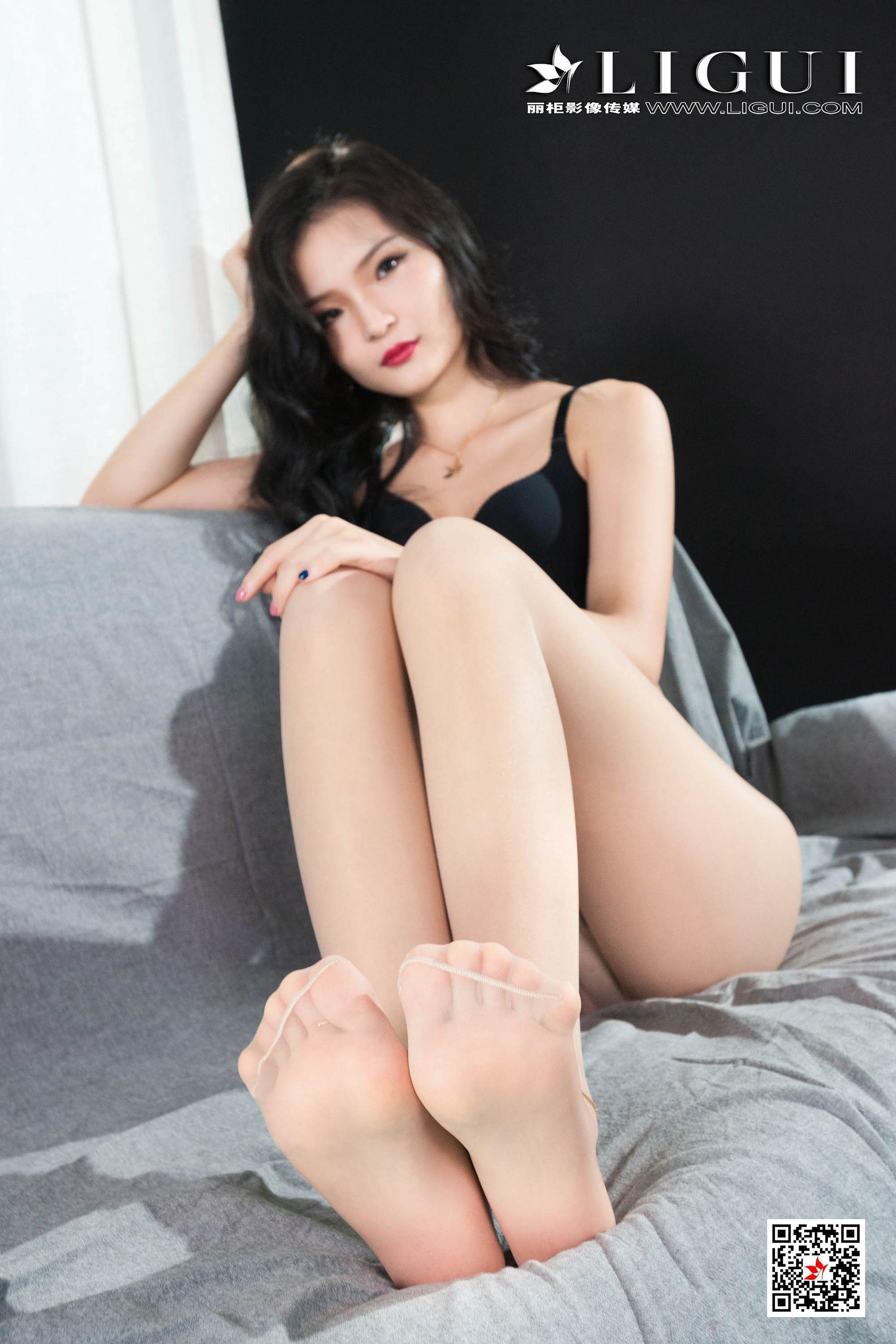 图片[6] - [丽柜Ligui] Model 苏黎 《肉丝袜丽人》 写真集[62P] - 唯独你没懂