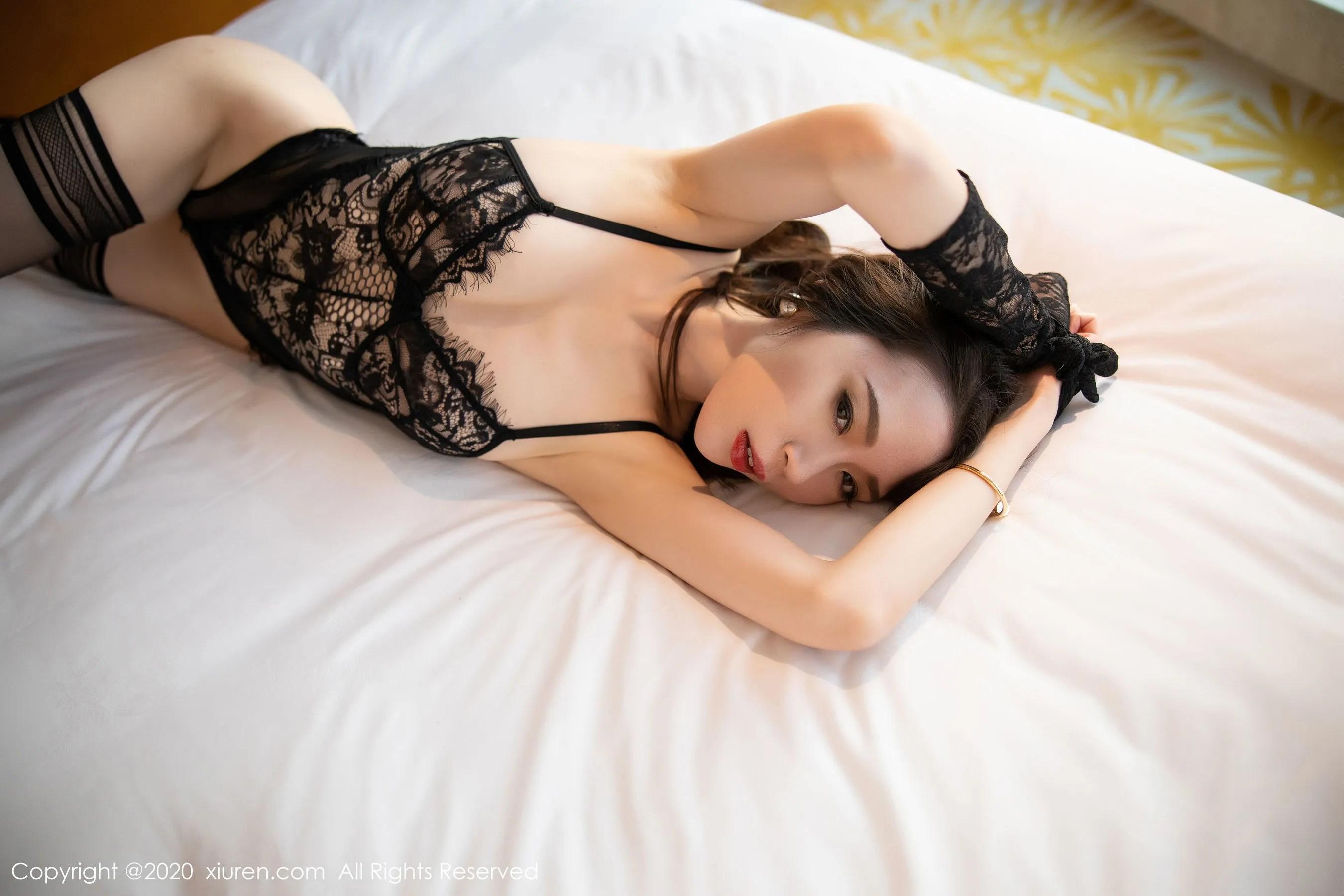 图片[5] - [秀人XiuRen] No.2153 梦心月 《魅惑镂空内衣》 写真集[70P] - 唯独你没懂