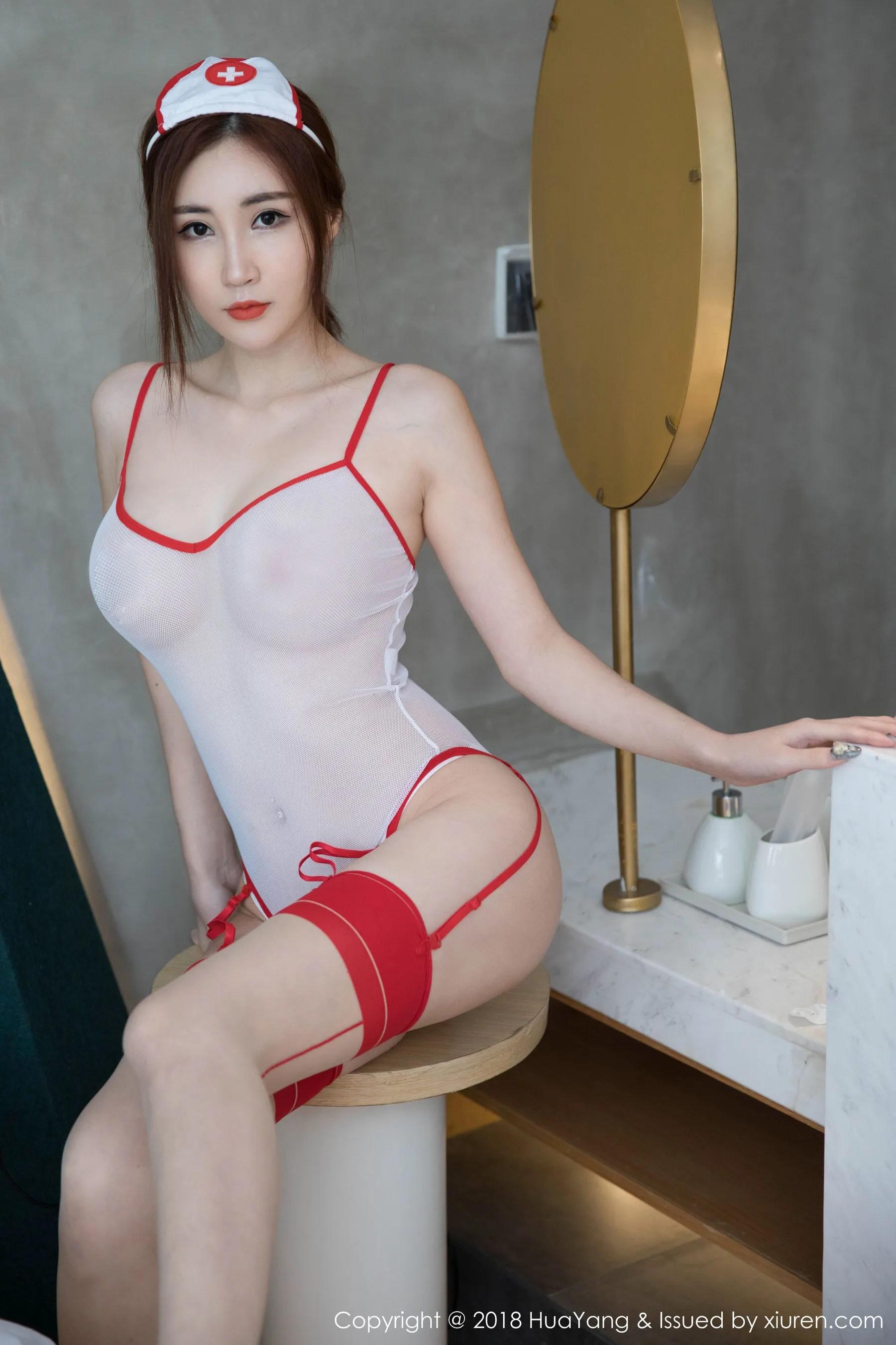 图片[1] - 孙梦瑶V《值班的美护士》 [花漾HuaYang] Vol.092 写真集[45P] - 唯独你没懂